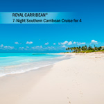 ROYAL CARIBBEAN<sup>®</sup> 7-Night Southern Caribbean Cruise for 4